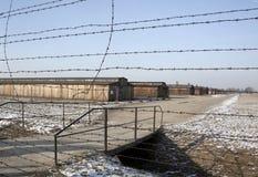 nazi Польша концентрации лагеря birkenau стоковое фото rf
