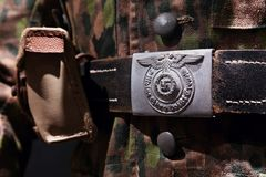 Nazi Belt Buckle editorial photography  Image of belgium