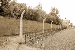 Nazi camp. Sachsenhausen-Oranienburg was a Nazi camp in Germany.A popular game amongst the guards involved threatening a prisoner with death if they did not Royalty Free Stock Image