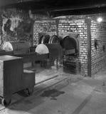Nazi Concentratiekamp van Auschwitz - Polen royalty-vrije stock foto