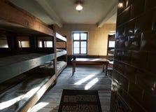 AUSCHWITZ, POLAND - SEPTEMBER 2, 2017. Nazi concentration camp Auschwitz I, Auschwitz, Poland. Nazi concentration camp Auschwitz I, Auschwitz, Poland Stock Photography