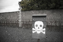 Nazi concentration camp Royalty Free Stock Photos