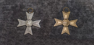 The Nazi cross Royalty Free Stock Photo