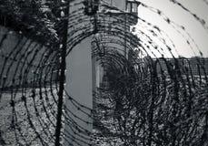 Nazi fence Stock Images
