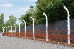 Nazi fence Stock Photo