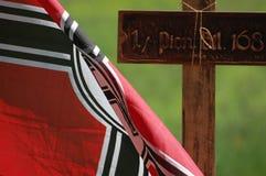 Nazi flag Stock Image