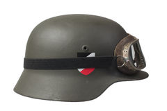 Nazi german helmet Royalty Free Stock Photo