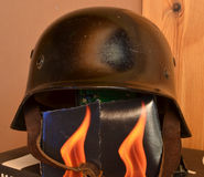 Nazi helmet Stock Photo