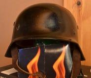 Nazi helmet Stock Photo