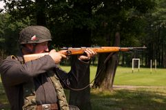Nazi sniper Stock Images