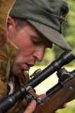 Nazi sniper Royalty Free Stock Photos