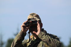 Nazi Soldier Stock Photo