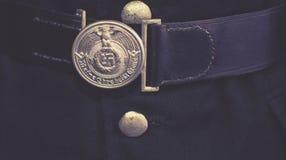 Nazi symbol on uniform Royalty Free Stock Photos