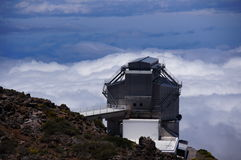 Nazionale Galileo de Telescopio imágenes de archivo libres de regalías