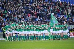 NAZIONI 2015 DI RBS 6; L'ITALIA - L'IRLANDA, 3-26 Fotografia Stock Libera da Diritti