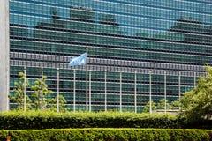 Nazioni unite che costruiscono a New York Fotografia Stock