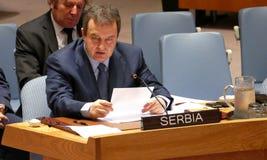 Nazioni unite di riunione del consiglio di sicurezza 7760 Fotografie Stock