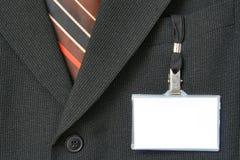 nazwa garnitur etykiety Zdjęcia Stock