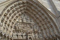Nazwa użytkownika Notre Damae katedra Paryż Obrazy Stock