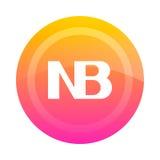 The NB button note. Vector illustration. Stock Photos