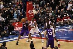NBA All Stars Grant Hill & Steve Nash Stock Photos