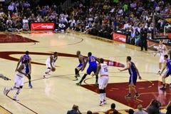 NBA-basket Arkivfoton