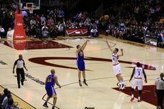 NBA basketball game Stock Image