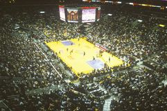 NBA-basketmatch Royaltyfri Fotografi