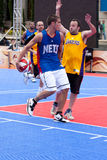 NBA and BBVA United Tour in Barcelona, Spain Stock Images