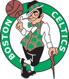 Nba boston celtics logo Royalty Free Stock Photography