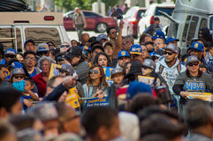 2015 NBA Championship Warriors Parade Stock Images