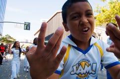 2015 NBA-de Parade van Kampioenschapsstrijders Royalty-vrije Stock Fotografie