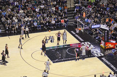 NBA game Stock Photography
