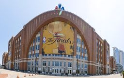 NBA:  Jun 10 NBA Finals Royalty Free Stock Image