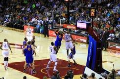 NBA-kvarterskott Arkivbilder
