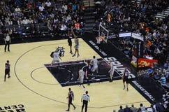 NBA-lek Royaltyfri Bild