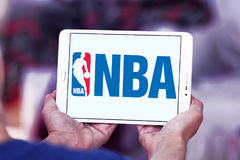 Nba logo Fotografia Stock