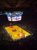 NBA match. Between Mavericks and Knicks Royalty Free Stock Image