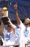 NBA  Mavericks champions parade Stock Image