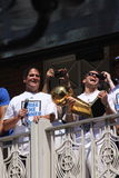 NBA  Mavericks champions parade Royalty Free Stock Photos