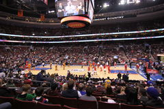 NBA Phoenix expose au soleil v Philadelphie 76ers photo stock