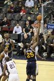 NBA player Al Jefferson Stock Images