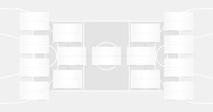 NBA playoffs schedule - NBA brackets - Basketball finals scheme - Transparent color. NBA playoffs schedule and playoffs rackets in tansparent color - template vector illustration