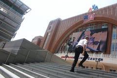 NBA Schlüsse: Außenseiter gegen Hitze stockfoto