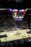NBA-spel Stock Foto's