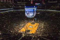 NBA-Spiel in Barclays-Center stockfoto