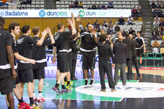 NBA Spieler Andrea Bargnani und Marco Belinelli Stockfoto