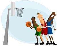 NBA Spieler Andrea Bargnani und Marco Belinelli Lizenzfreies Stockfoto
