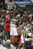 NBA Spieler George-Hügel u. Quinton Ross Lizenzfreie Stockfotografie