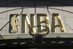 NBA Symbol Stockfotos